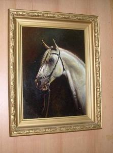 Голова коня картина