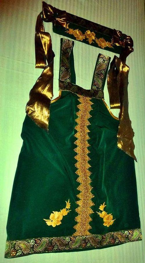 сарафан-зеленый