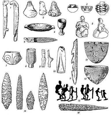 Орудия труда периода неолита