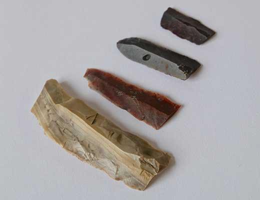 Каменные отщепы